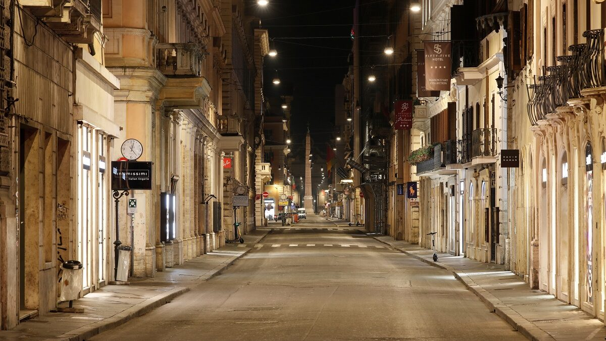 LOCKDOWN LANDSCAPES: HERE'S WHY DESERTED CITY STREETS COULD BE SIGN OF POSITIVITY