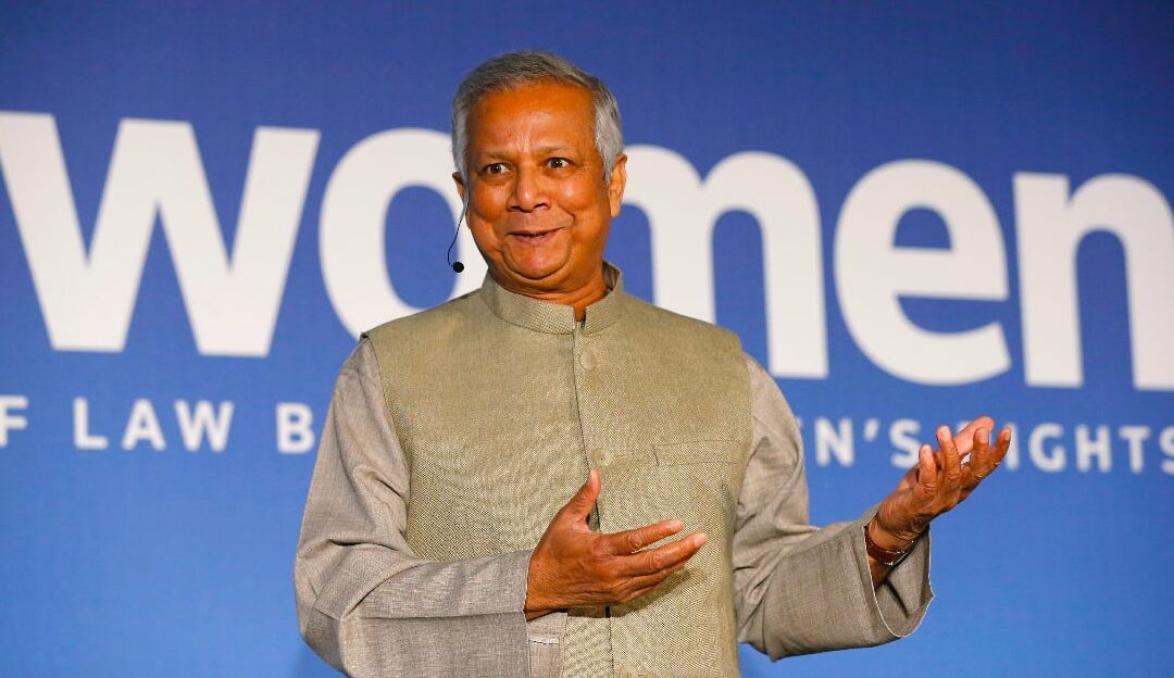 POST-COVID WORLD NEEDS 'OUTRAGEOUSLY BOLD' VISION – NOBEL WINNER YUNUS