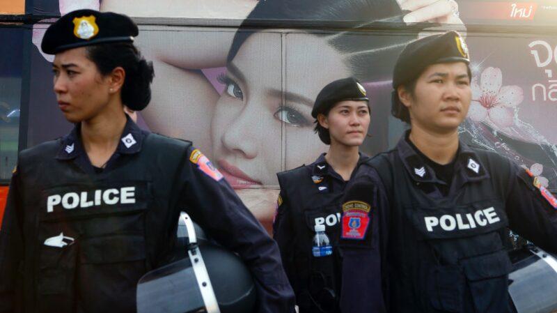 asian policewomen