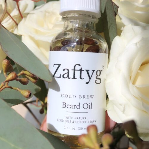 ZAFTYG COLD BREW BEARD OIL - SAMPLE