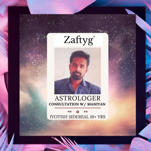 Jyotish Vedic Astrology Consultation Maniyan Annadurai